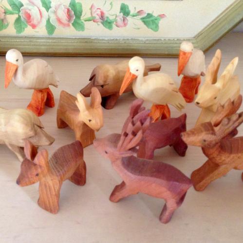 ドイツ 木のおもちゃ 動物フィギュア