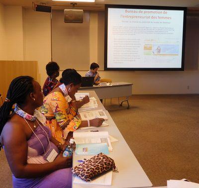 日本アフリカ海外女性起業家交流会