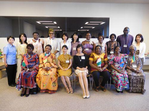 JICA日本アフリカ海外女性起業家交流会