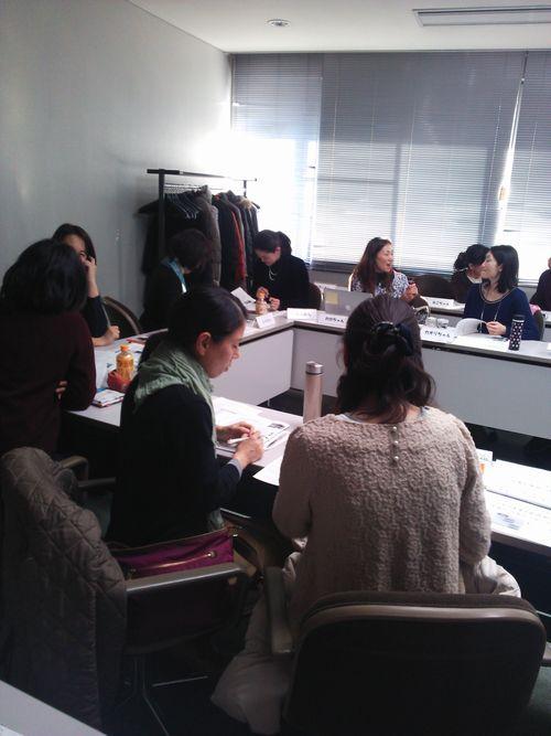 女性起業塾の様子